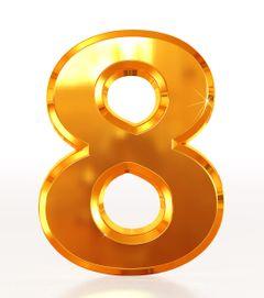 数字の「8」に力を借りる – リリアン・トゥーの風水マガジン WOFSジャパン