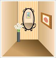 風水上、玄関に鏡を置くのは正面でも良いか。