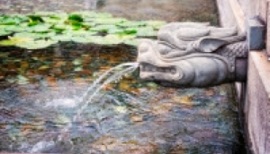 水の力で金運を強化する