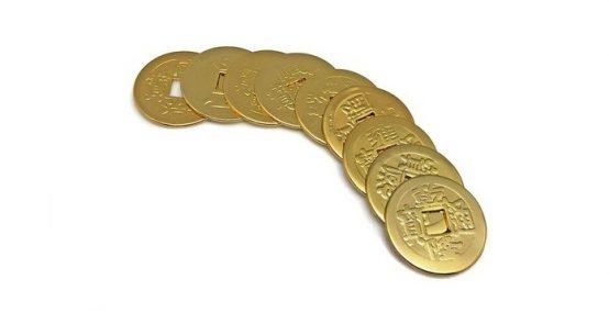 コインで金運を高める