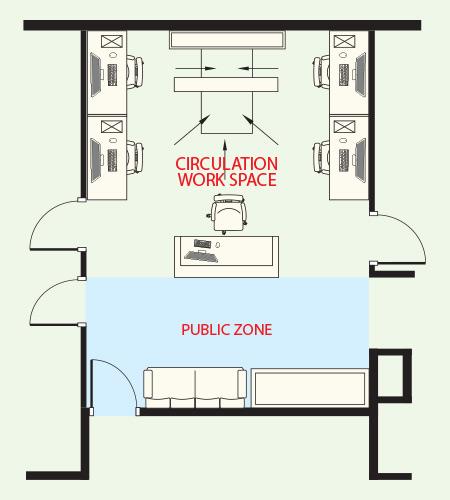 小規模オフィスの例