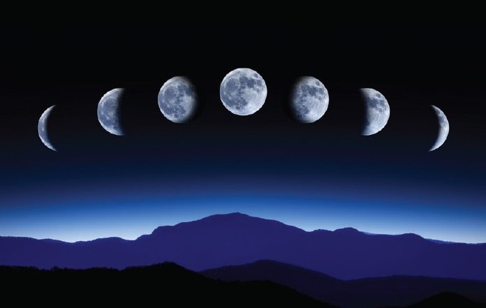 月の満ち欠け