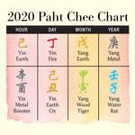 2020年の八字チャート