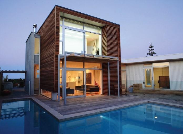 プール付き戸建て住宅